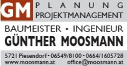 Baumeister Ing Günther Moosmann